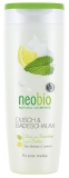 NEOBIO pěna do koupele a sprch. gel BIO-meduňka&citron 250ml