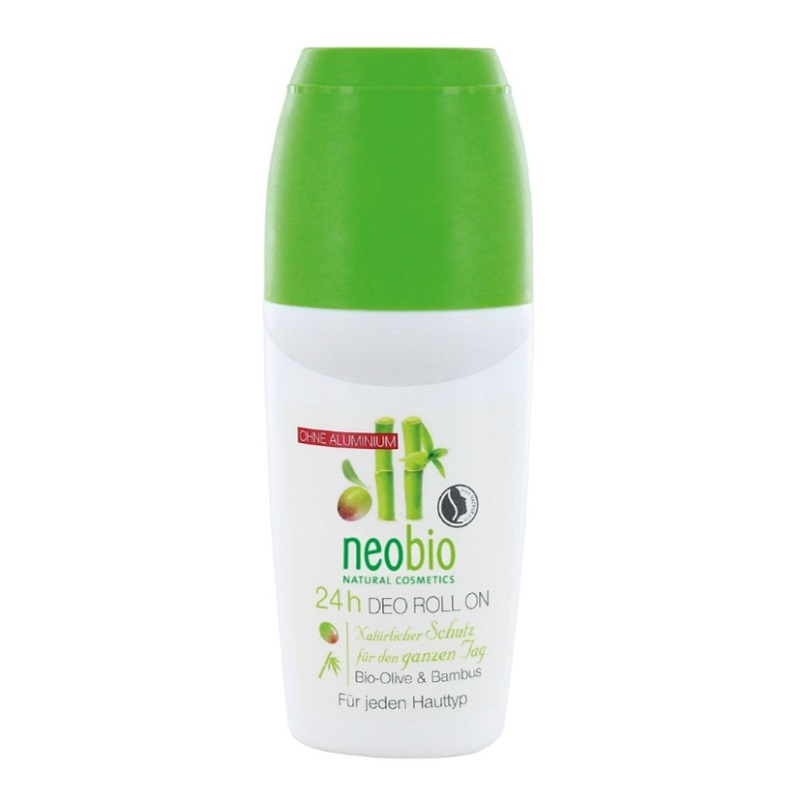 Neobio 24h Deo roll-on Bio Oliva & Bambus 50 ml