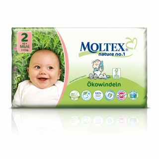 MOLTEX nature no. 2 Mini 3-6kg 42ks