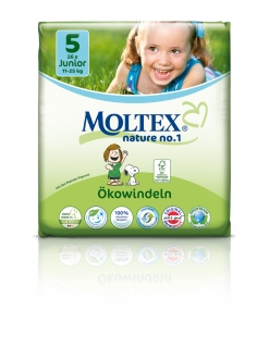 MOLTEX nature no. 5 Junior 11-25kg 26ks