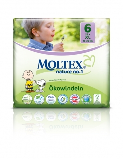 MOLTEX nature no. 6 XL 16-30kg 22ks