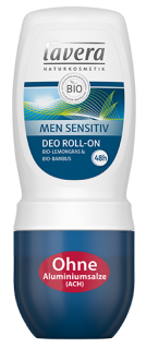 LAVERA MEN SENSITIV roll-on deodorant 48h 50 ml