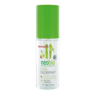Neobio 24h Deo spray Bio Oliva & Bambus 100 ml