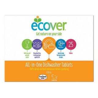 Ecover Tablety do myčky All-In-One Citrus 500 g / 25 ks