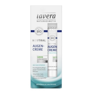 Lavera Neutral oční krém 15 ml