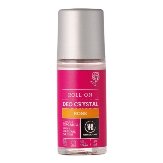 Urtekram Roll-on Deo Crystal Růže 50 ml